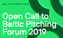 CALL FOR SHORT FILM PROJECTS: BALTIC PITCHING FORUM INVITES GUEST COUNTRY FINLAND
